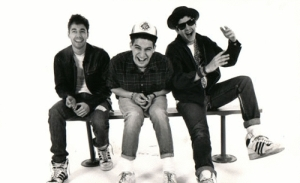 Beastie Boys laughing