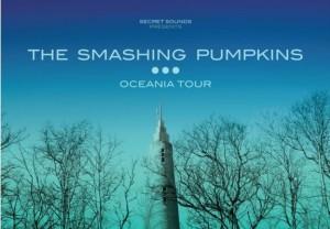 The Smashing Pumpkins Oceania Tour 2012 Flyer_Poster