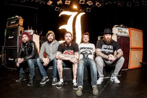 Every Time I Die Hanging Out on Stage